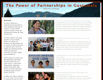 Guatemala Partnerships